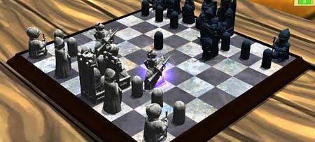 دانلود بازي شطرنج سه بعدي Medieval Chess 3D براي اندرويد