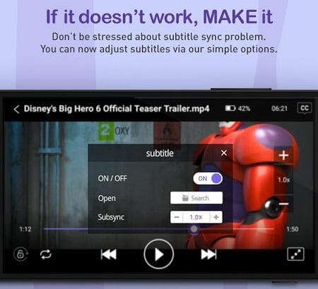 دانلود نرم افزار کام پلير KMPlayer براي اندرويد