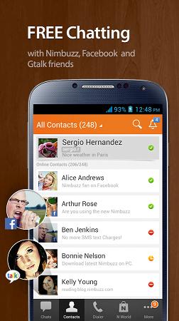 دانلود مسنجر نیمباز Nimbuzz Messenger 3.6.0 برای اندروید