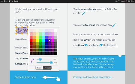 دانلود نرم افزار مشاهده و ويرايش پي دي اف Xodo PDF Reader & Annotator براي اندرويد