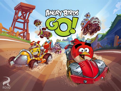 دانلود بازی مسابقه پرندگان خشمگین Angry Birds Go! 1.6.3 برای اندروید