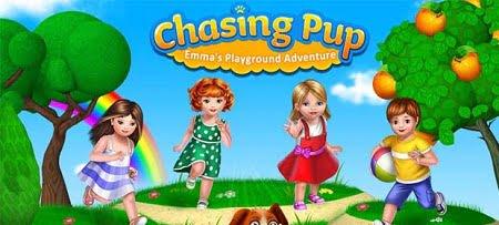 دانلود بازی بچه گانه Chasing Pup- Emma's Playground برای اندرويد