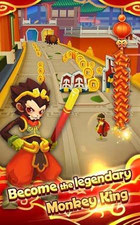 دانلود بازی شاه میمون اندروید Monkey King Escape