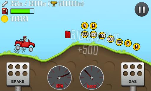 دانلود Hill Climb Racing v.1.21.2 بازی مسابقه پرش برای اندروید