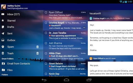 دانلود نرم افزار Yahoo! Mail 4.8.6 ایمیل یاهو برای اندروید
