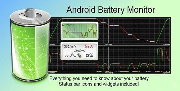 دانلود Battery Monitor Widget Pro 3.5 – ویجت اندروید نمایش وضعیت باتری