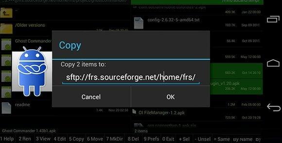 دانلود Ghost Commander File Manager 1.53 – فایل منیجر قدرتمند اندروید