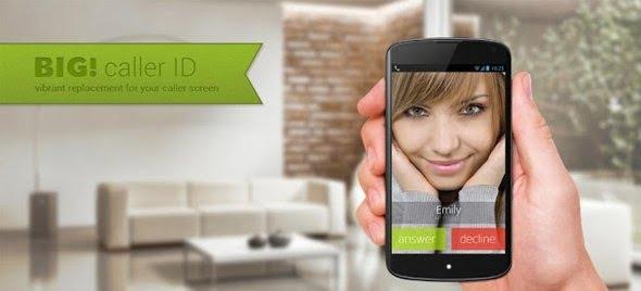 دانلود Full Screen Caller ID – BIG Pro 3.4.7 – نمایش تصویر تماس گیرنده به صورت تمام صفحه