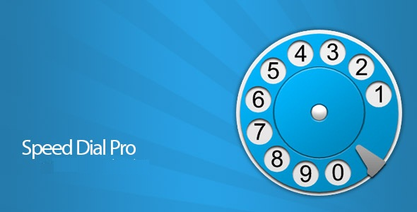 دانلود Speed Dial Pro v4.0.4 – برنامه شماره گیری سریع