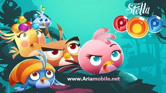 دانلود Angry Birds Stella POP 0.16.5 – بازی پرندگان خشمگین استلا