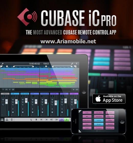 دانلود برنامه Cubase iC Pro برای ایفون ایپد ایپاد تاچ