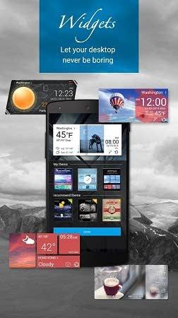 دانلود نرم افزار GO Weather 5.28 هواشناسی گو ودر برای اندروید