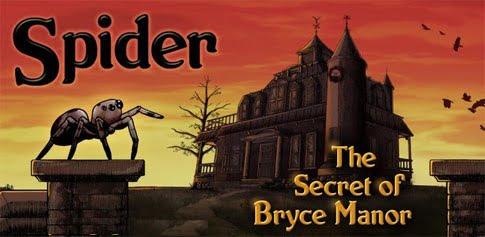 دانلود Spider: Secret of Bryce Manor 1.5 – بازی فکری عنکبوتی برای اندروید