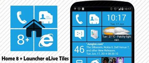 دانلود Home8+like Windows 8 3.8.1 – لانچر ویندوز 8 برای اندروید