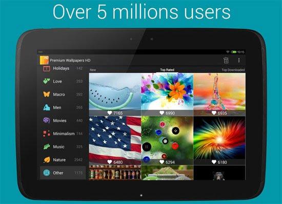 دانلود Premium Wallpapers HD 3.3 – نرم افزار مجموعه والپیپرهای اچ دی اندروید