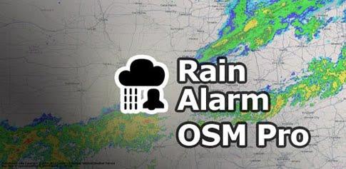 دانلود Rain Alarm OSM Pro 4.1.3 – اپلیکیشن هشدار باران برای اندروید