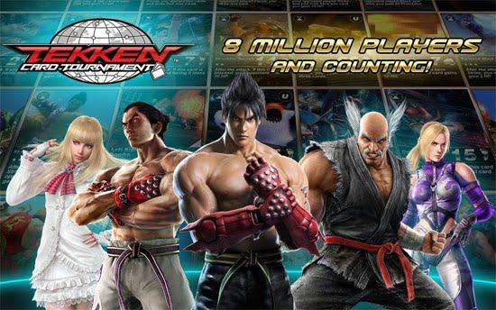 دانلود Tekken Card Tournament 3.115 – بازی تیکن اندروید + دیتا