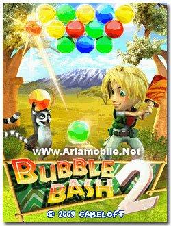 بازي Bubble Bash 2 به صورت جاوا