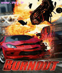 بازي  سه بعدي  Burnout 'ماشين ' به صورت جاوا