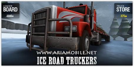 بازی کامیون داران جاده های برفی Ice Road Truckers v1.0 – آندروید