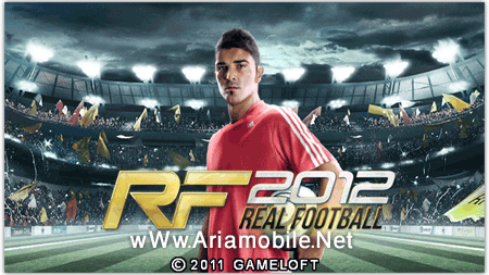 لذت فوتبال در گوشی موبایل با بازی جدید Real Football 2012 جاوا