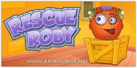 بازی نجات رابی Rescue Roby HD v1.3 – آندروید