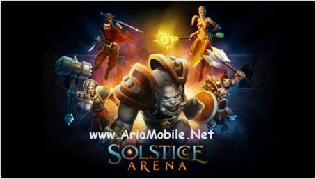 بازی استراتژی آرنا در نقطه انقلاب Solstice Arena – آی او اس