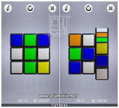 بازی Touch Cube – مکعب روبیک