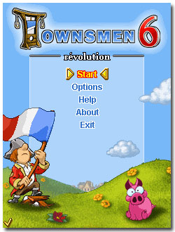 بازي استراتژيکي Townsmen 6 Revolution به صورت جاوا و مولتي اسکرين