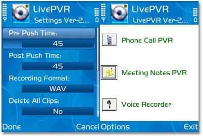 ضبط صدا بدون بيپ و ضبط خبرنگاري با امکاناتي متفاوت  SoftTrends LivePVR v2.80