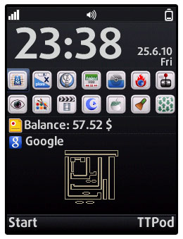 دسکتاپ گوشی خود را زیبا کنید Voyager Home Screen (vHome) v3.73b