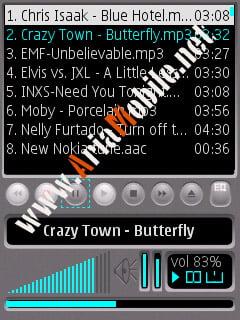 برنامه Alon MP3 Dictaphone v2.88.3  برای سری60 ورژن 3 -s60v3