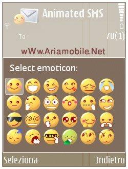 ارسال شکلک هاي زيبا به همراه اس ام اس با نرم افزار Animated SMS v1.20