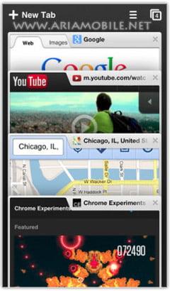 مرورگر کروم مخصوص آی او اس Chrome