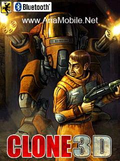 بازی جدید و بسیار زیبای Clone 3D جاوا