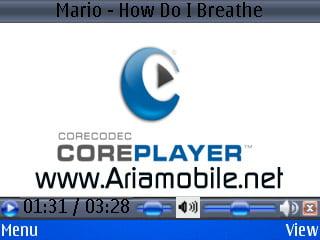 نرم افزار CoreCodec.CorePlayer.v1.1.2.S60v3 برای سری 60 ورژن 3