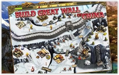 بازی ساخت دیوار چین Building the China Wall – آندروید