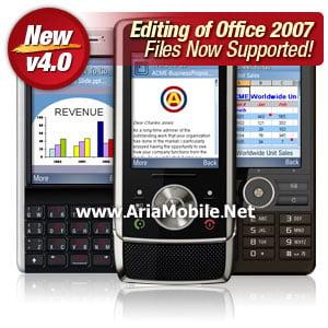 برنامه کار با فایل های تحت آفیس برای UIQ3 – Documents2go V4.001 New Ver