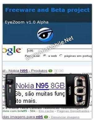 نرم افزار EyeZoom برای نوکیا s60v5 و s60v3 – بزرگنمایی خطوط