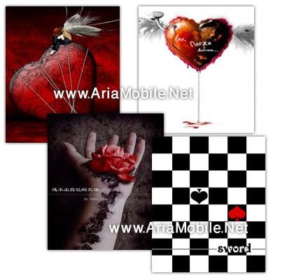 تصاویر عاشقانه و فانتزی برای موبایل در ابعاد 320×240