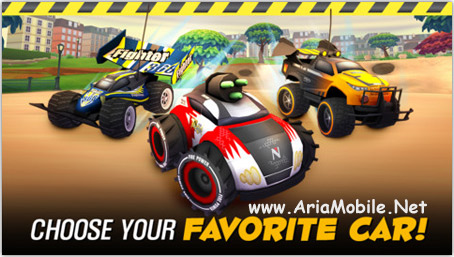 بازی اتومبیل رانی Nikko RC Racer v1.0.9 – آی او اس