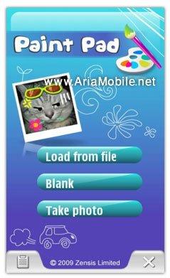 نرم افزار نقاشي  PaintPad- براي نوکيا 5800 و نوکيا n97