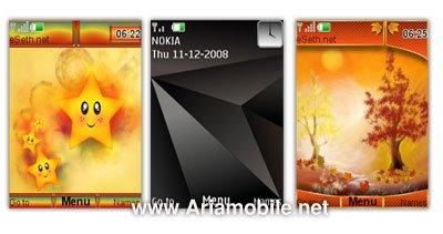 تم برای نوکیا  5000, 6300i, 6600 Slide, 5310 Xpress Musicو s40v5 themes
