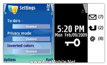 اسکرین سیور برای نوکیا سری 60 ورژن 3-screen saver for s60 3rd