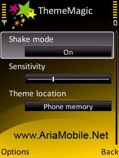 تعویض تم با تکان دادن گوشی ThemeMagic v1.0