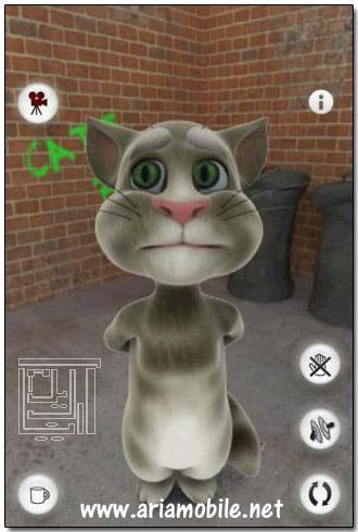 بازی Talking Tom Cat – تام سخنگو – سیمبین^3