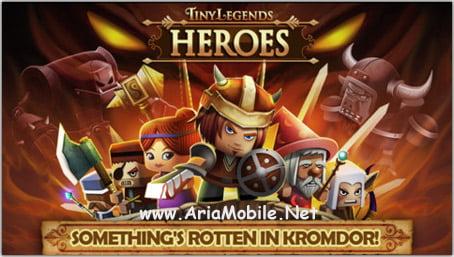 بازی اکشن افسانه های کوچک Tiny Legends: Heroes v1.3.2 – آی او اس