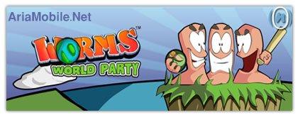 بازی N-Gage2 – Worms World Party N-GageII