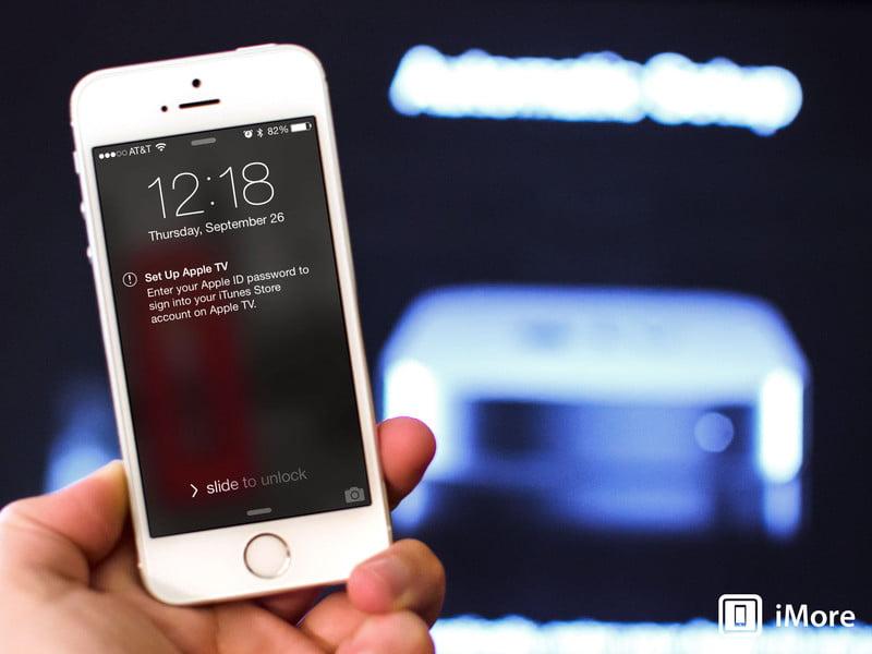 اموزش متصل کردن و سینک کردن اطلاعات ایفون با Apple TV
