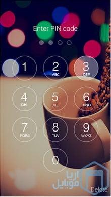 برنامه Passcode Lock Screen برای اندروید